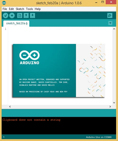 Getting Started with the Arduino – Installing the IDE