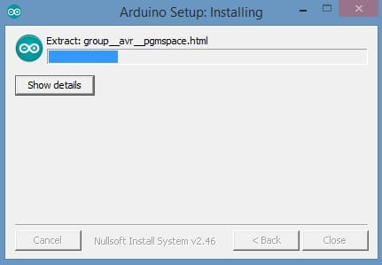 Install the arduino desktop ide