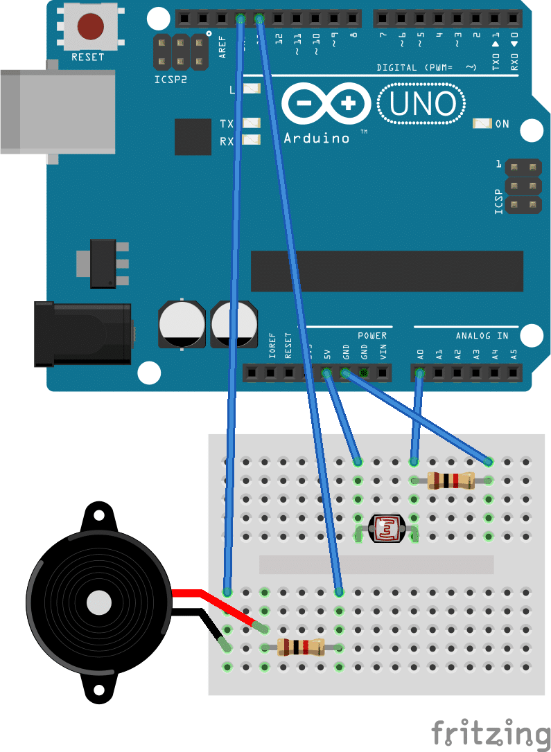 The Objective Of Circuit Is To Build An Electronic Dice Based On How Set Up 7 Segment Displays Arduino Basics Getting Started With Controlling Led Part 2