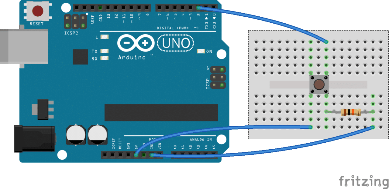 Switch c arduino