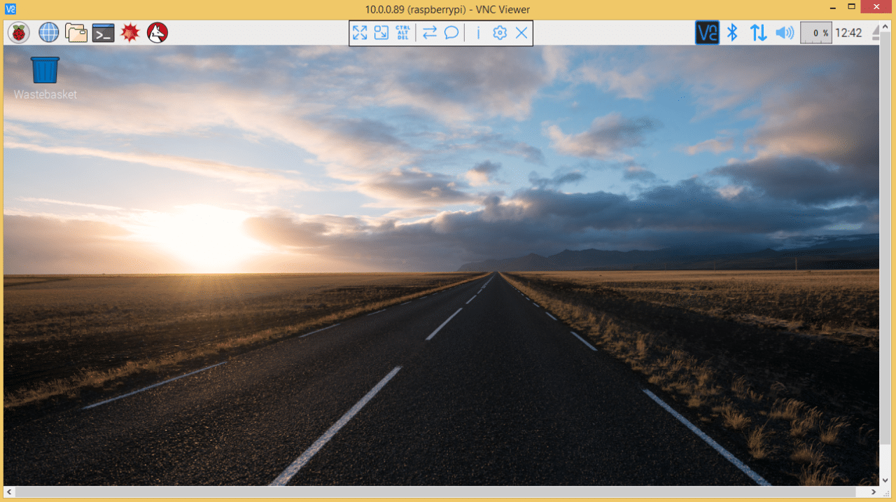 How to Access the Raspberry Pi Desktop with a Remote Desktop Connection - Raspbian Desktop