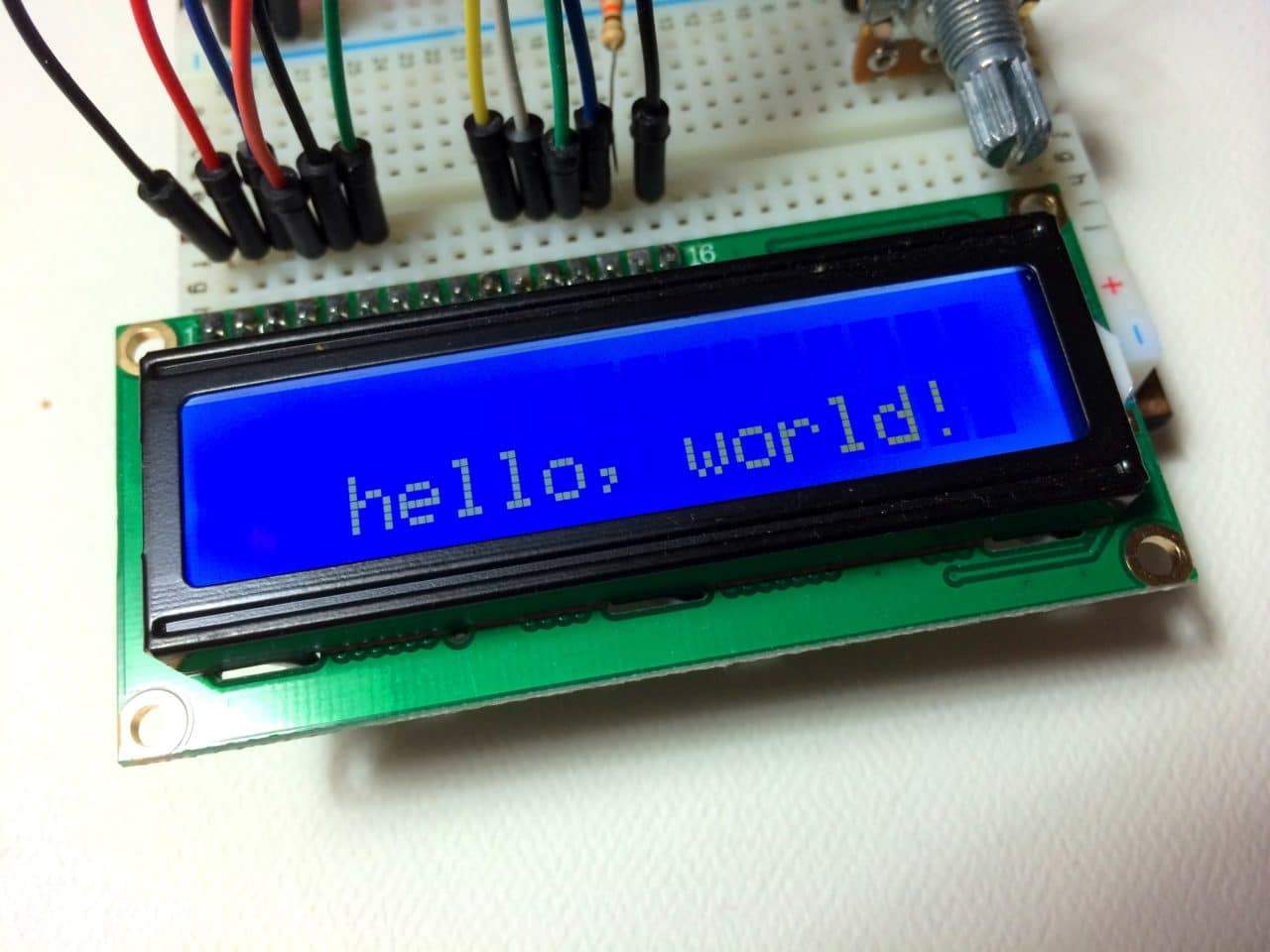 Arduino Lcd Set Up And Programming Guide Push To Test Light Wiring Diagram X