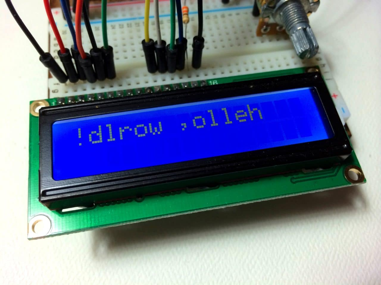 Arduino Lcd Set Up And Programming Guide Led Display Board Circuit