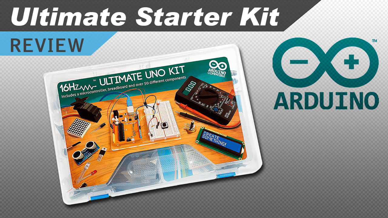 Video inside the arduino uno r ultimate starter kit