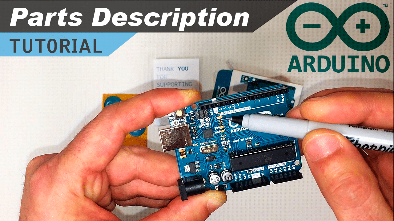 [VIDEO] Arduino Board Components Explanation