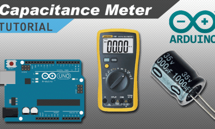 [VIDEO] How to Make an Arduino Capacitance Meter