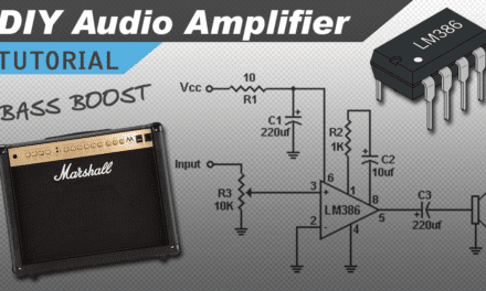 [VIDEO] Make a Great Sounding LM386 Audio Amplifier with Bass Boost