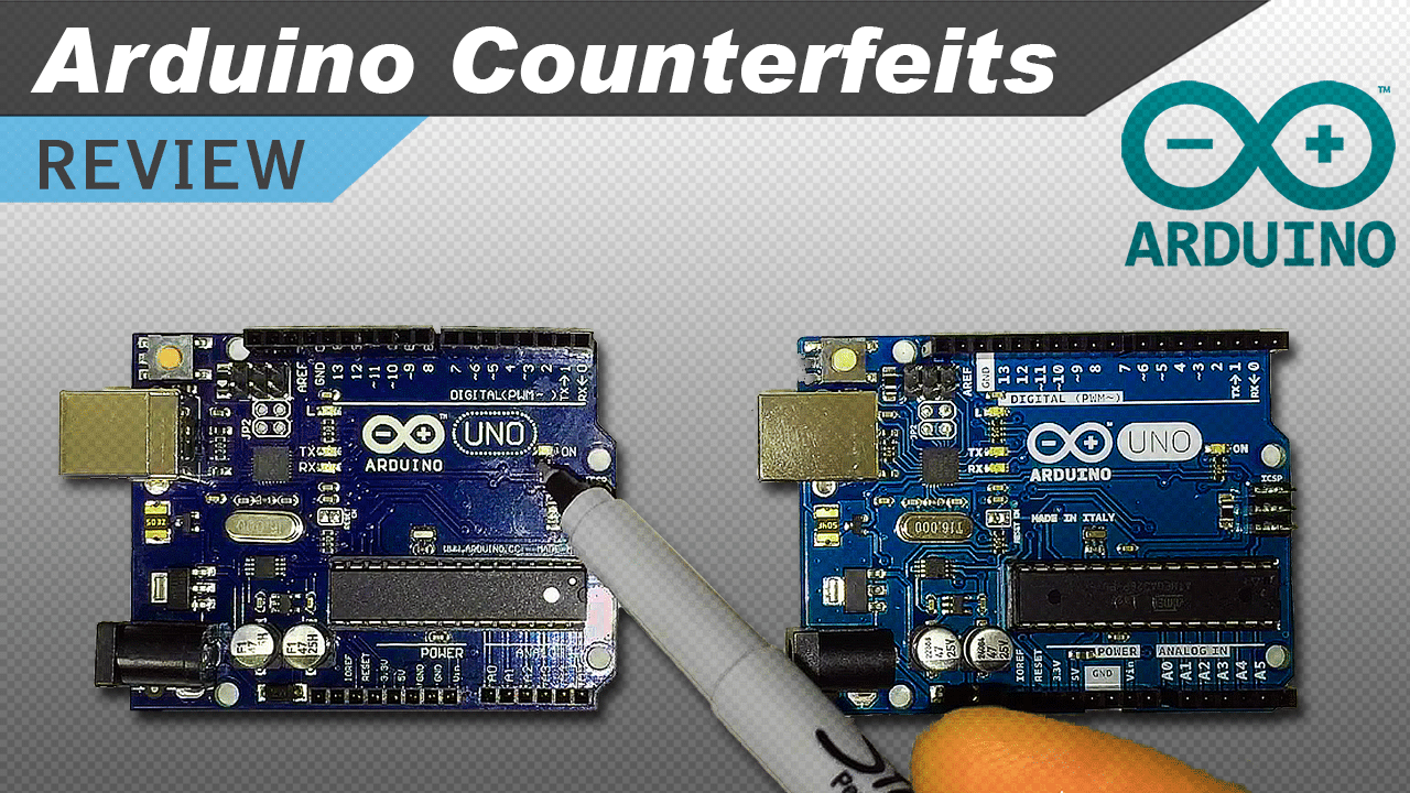 Video Real Vs Fake Arduino Test Circuit Basics Picture Of Prototyping The