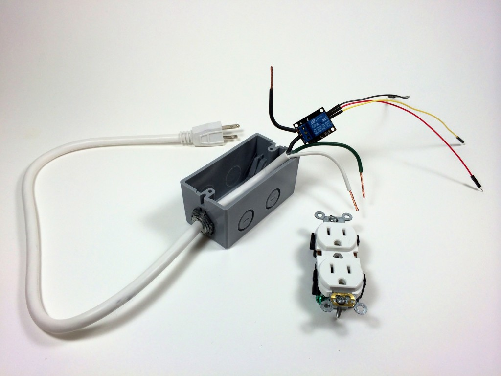 Turn Any Appliance Into A Smart Device With An Arduino Controlled Outlet To Wiring Build Power Before The Electrical