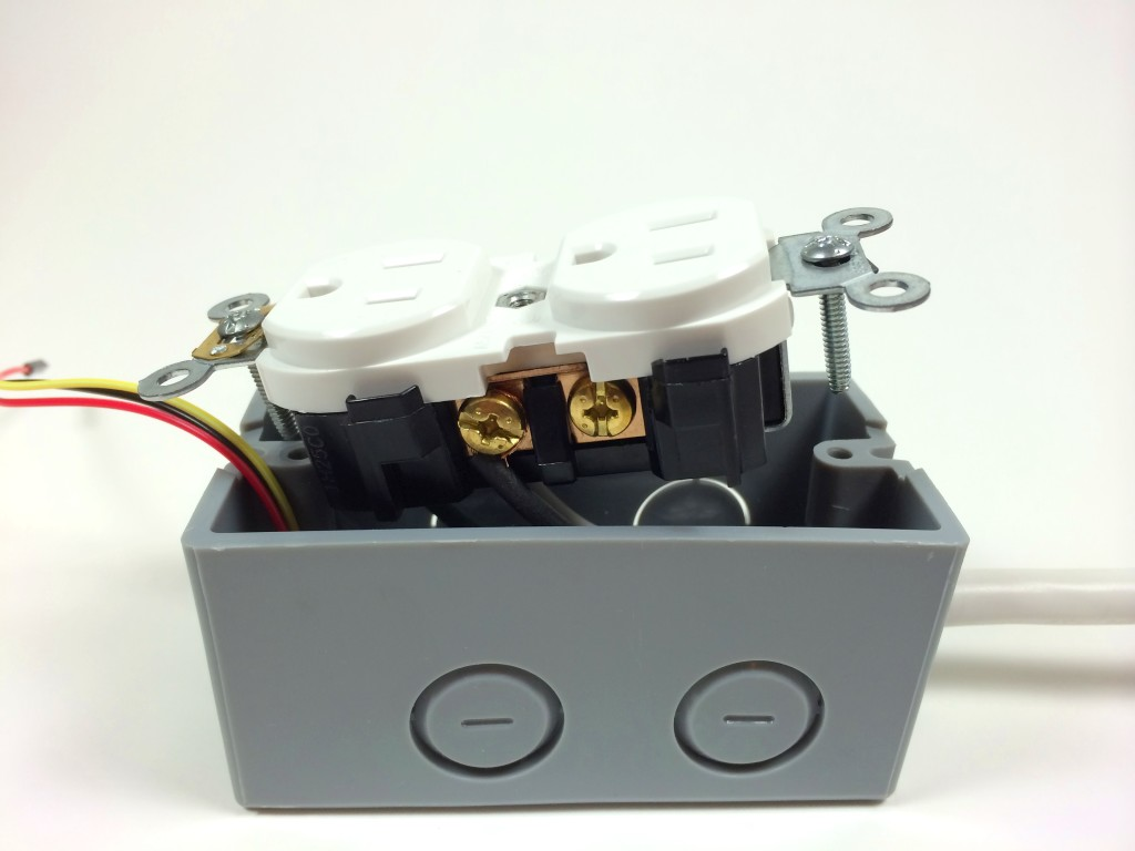 Build an Arduino Controlled Power Outlet - Attaching the Hot Electrical Wire