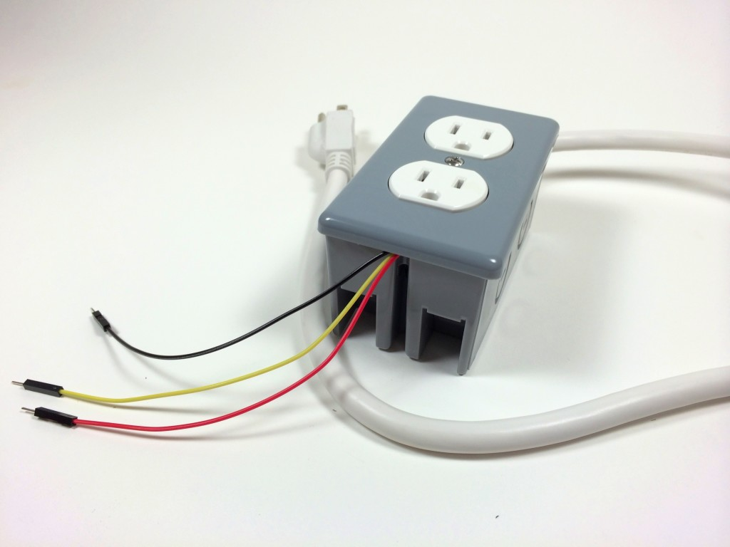 Turn Any Appliance Into A Smart Device With An Arduino Controlled How To Wire Multiple Electrical Outlets Build Power Outlet The Completed Box Data 5v And