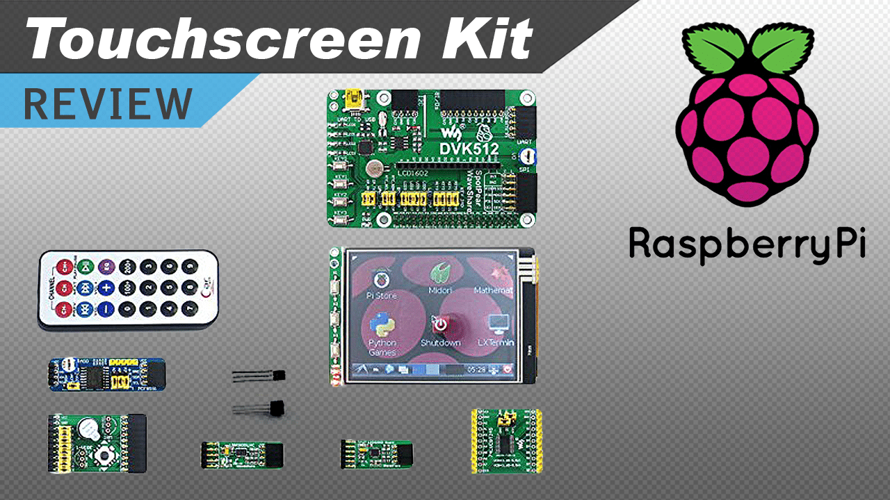 [VIDEO] Raspberry Pi 3.2″ Touch Screen and Modules Kit Review