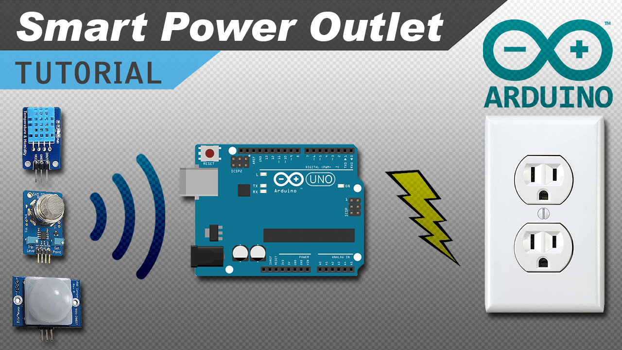 [VIDEO] How to Make an Arduino Controlled Power Outlet Box
