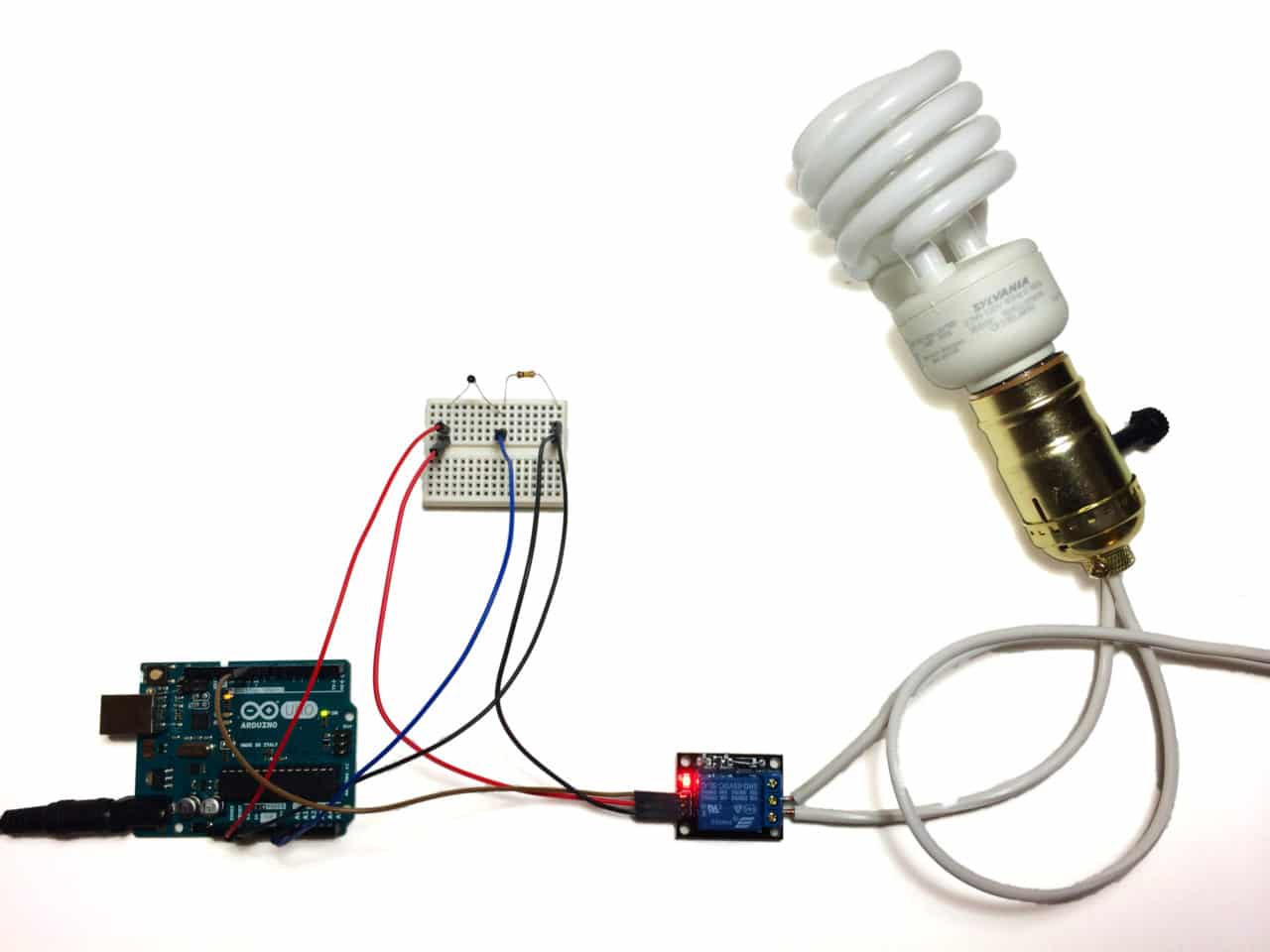 Enjoyable How To Set Up A 5V Relay On The Arduino Circuit Basics Wiring Cloud Geisbieswglorg