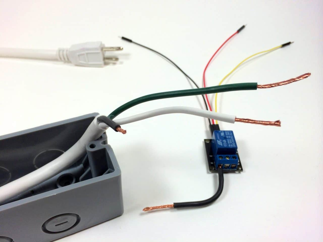Build an Arduino Controlled Power Outlet - Stripping the Hot ...