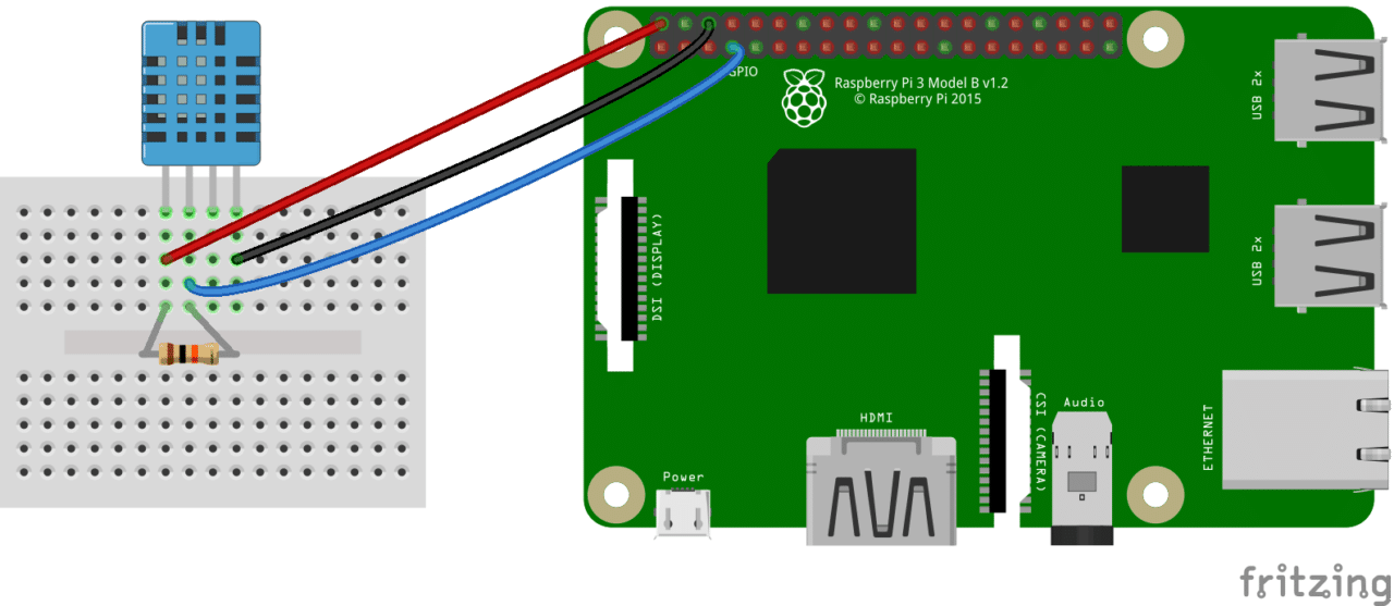 How to Setup the DHT11 on the Raspberry Pi Four pin DHT11 Wiring Diagram how to set up the dht11 humidity sensor on the raspberry pi dht22 wiring diagram at soozxer.org
