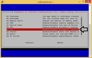Raspberry Pi LCD - I2C Connections - sudo raspi-config enable i2c