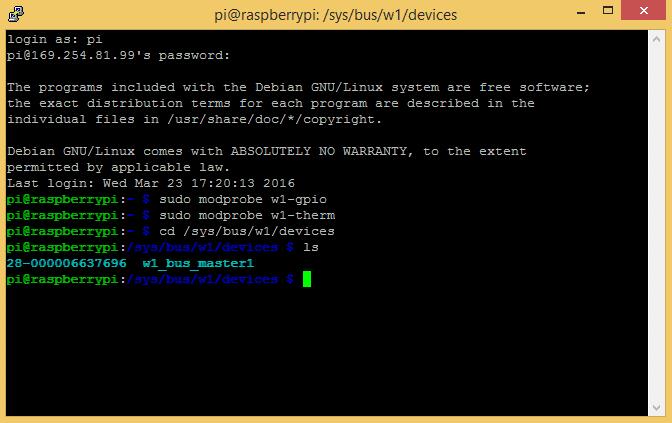 Raspberry Pi DS18B20 Temperature Sensor Tutorial - Circuit