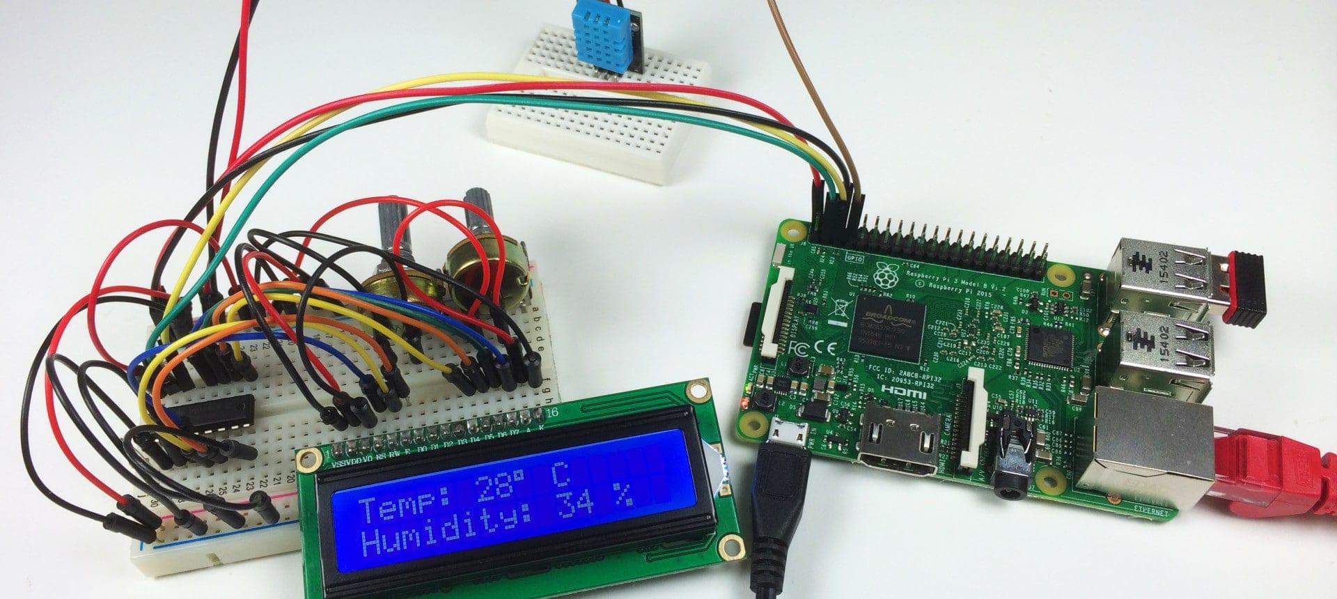 How to Setup an I2C LCD on the Raspberry Pi - Circuit Basics