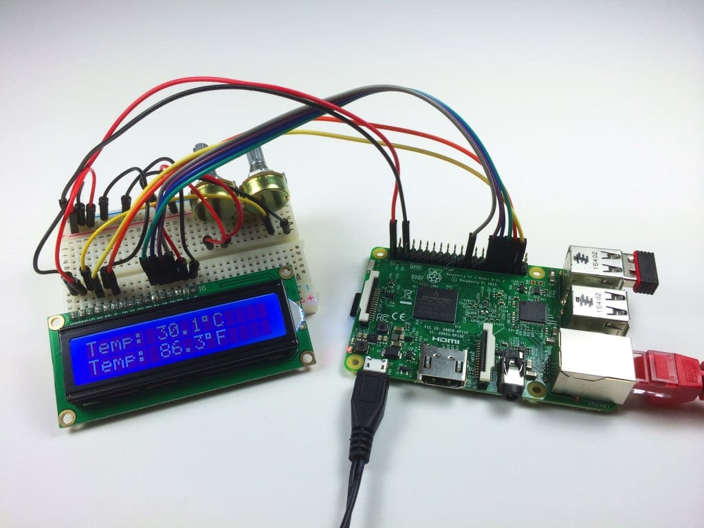 How to Setup an LCD on the Raspberry Pi and Program it ...