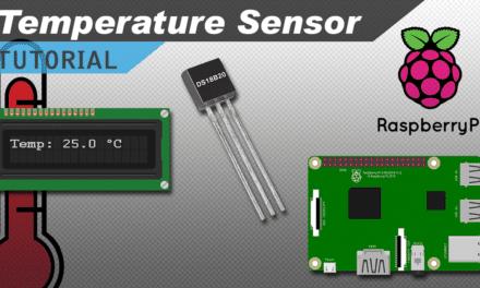 [VIDEO] Raspberry Pi DS18B20 Temperature Sensor Tutorial
