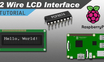 [VIDEO] How to Setup an I2C LCD on the Raspberry Pi