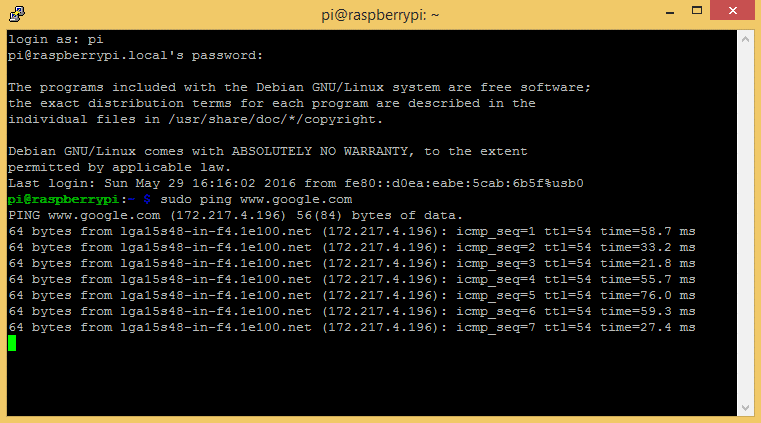 Raspberry Pi Zero Ethernet Gadget - Pi Zero Internet Access