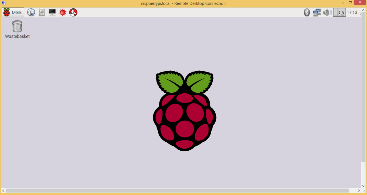 Raspberry Pi Zero Ethernet Gadget - Remote Desktop Connection - Raspbian Desktop