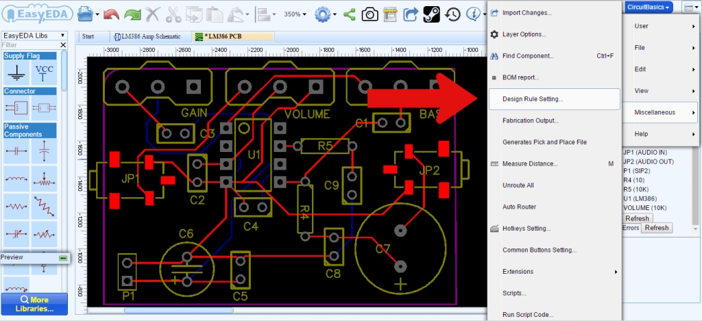 How to Make a Custom PCB - Create Design Rule Settings