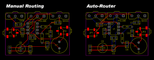 How to Make a Custom PCB - Manual Routing vs Auto-Router