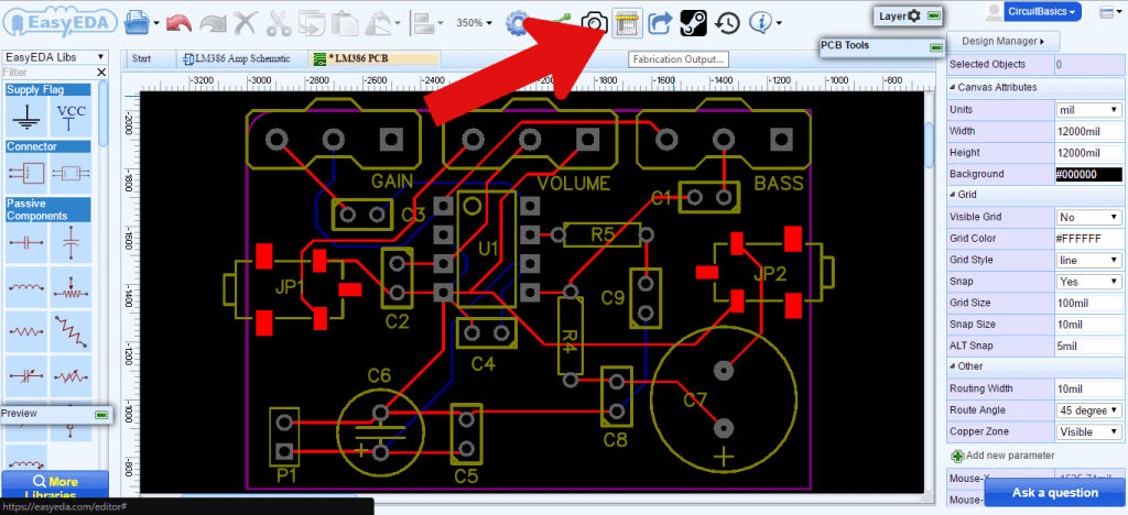 How to Make a Custom PCB - PCB Fabrication Output Button
