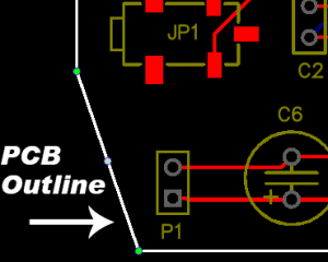 How to Make a Custom PCB - PCB Outline