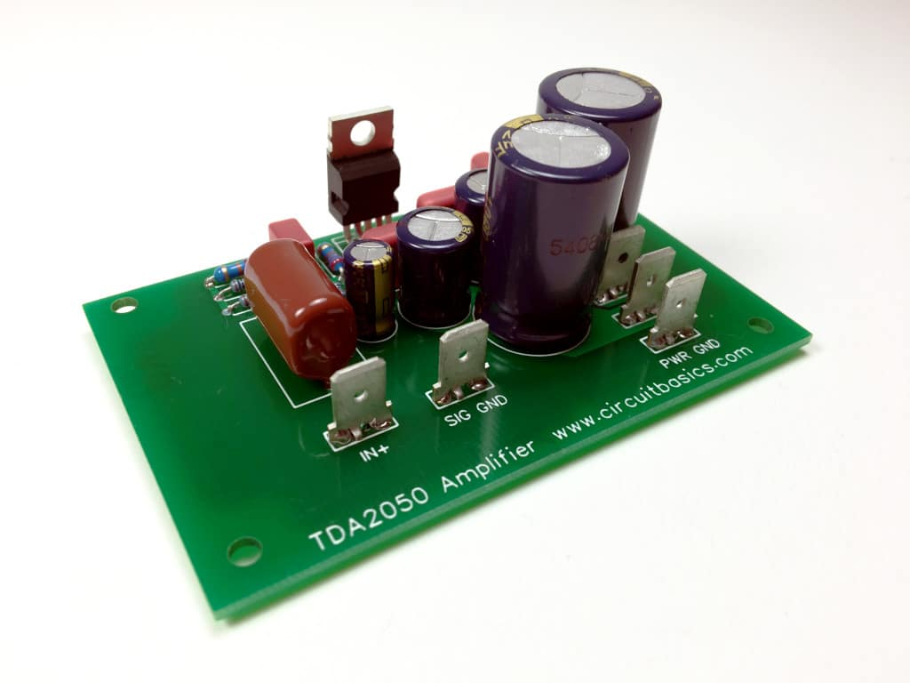 how to design and build an amplifier with the tda2050 circuit basics rh circuitbasics com