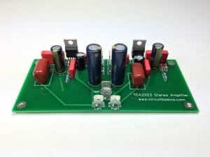 How to Build an Audio Amplifier With the TDA2003 - Assembled Stereo Amplifier