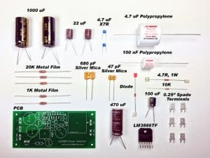 How to Design a Hi-Fi Audio Amplifier With an LM3886 - Amplifier Components