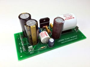 How to Design a Hi-Fi Audio Amplifier With an LM3886 - Assembled Amp