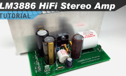 [VIDEO] LM3886 Hi-Fi Audio Amplifier Design Tutorial