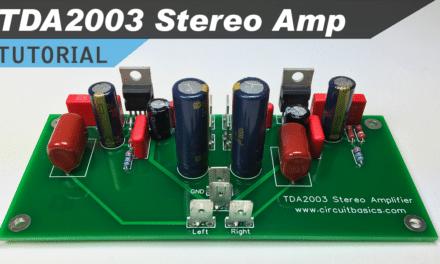 [VIDEO] TDA2003 Stereo Amplifier Design Tutorial