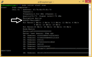 How to Set Up WiFi on the Raspberry Pi - Find the ESSID