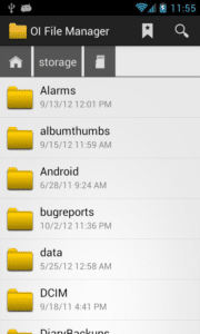 Programming With Your Android Smartphone - Tools You Need - OI File Manger