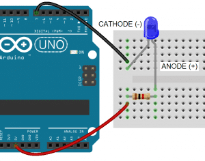 Arduino 7-Segment Display Tutorial - Cathode to GPIO