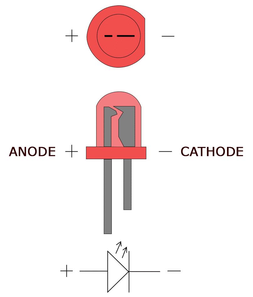 Arduino 7 Segment Display Tutorial - LED Anode and Cathode