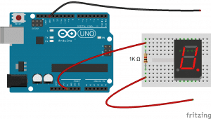 Arduino 7-Segment Tutorial - Finding the Pinout