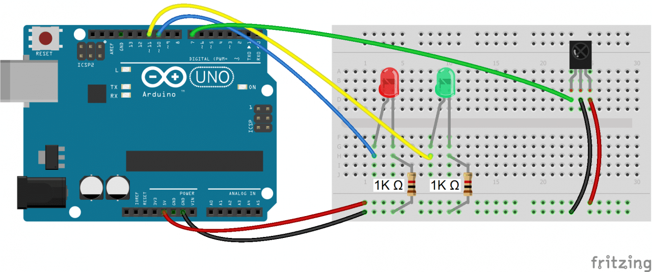 Arduino IR Remote Receiver - Controlling LEDs with the IR Remote
