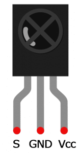 IR Receiver Stand-Alone Pinout Diagram