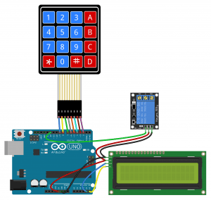 Arduino Keypad Tutorial - Password Controlled 5V Relay