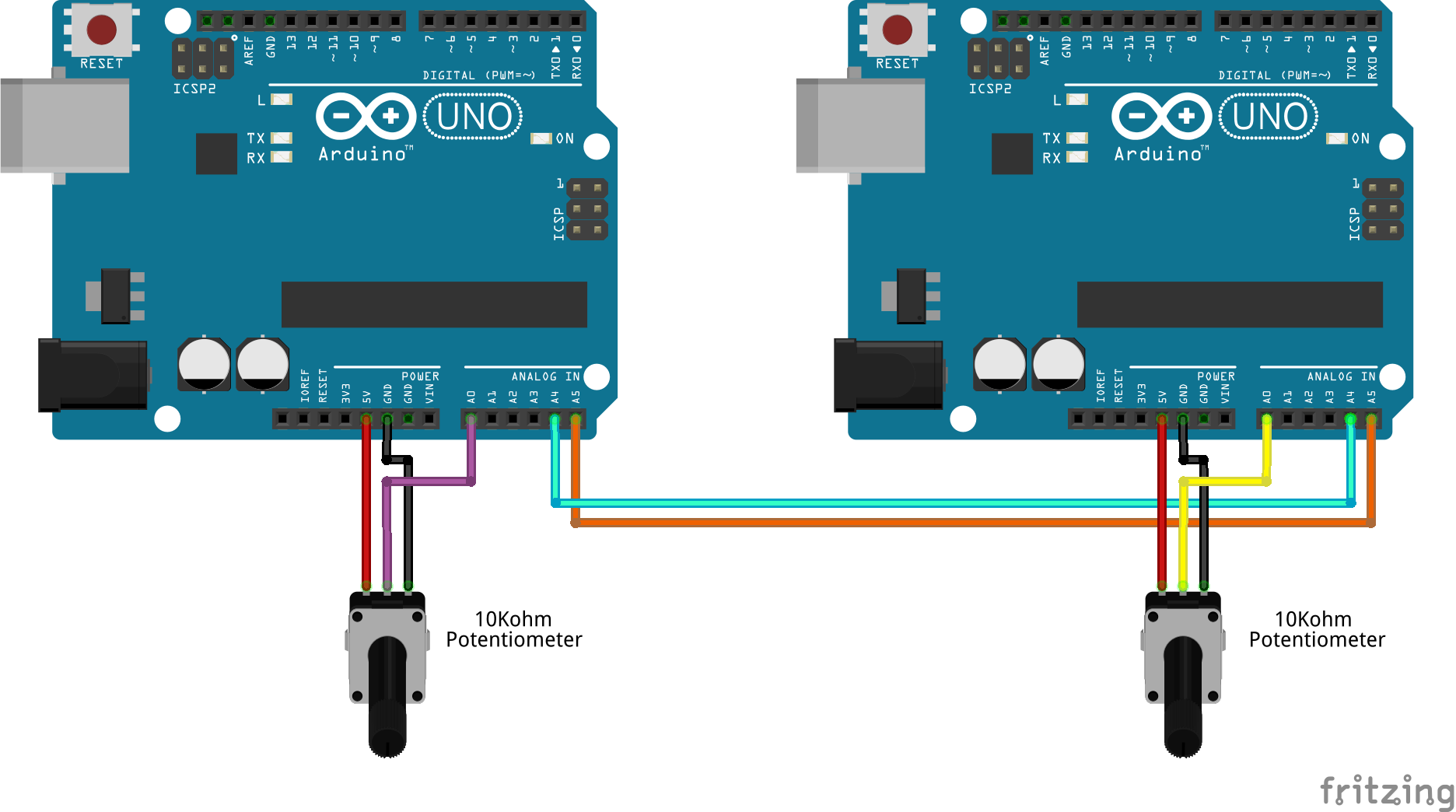 How to Setup I2C Communication on the Arduino