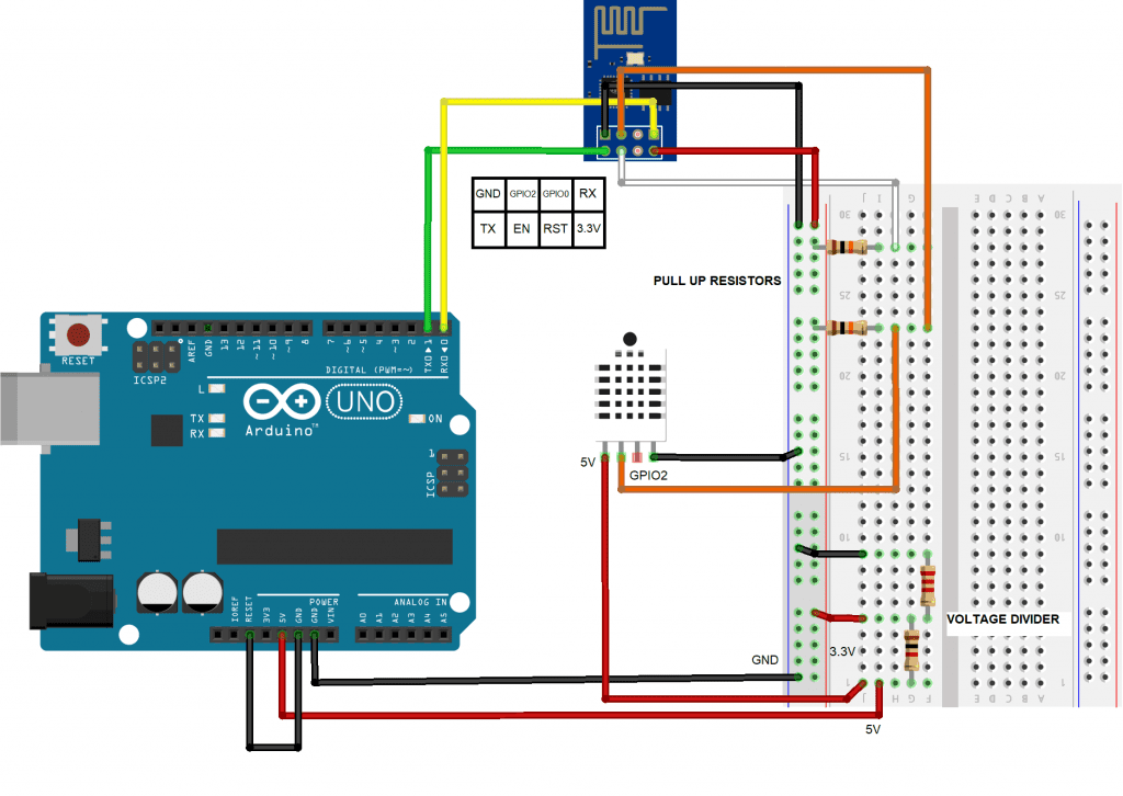 How to Show Arduino Sensor Data on a Webpage 6