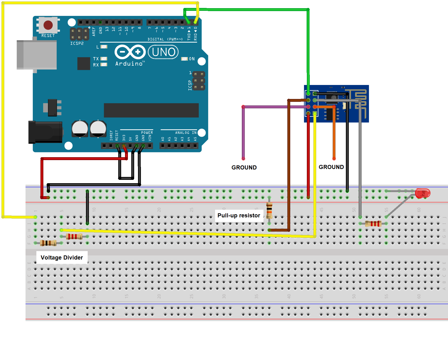 How to Control the Arduino's GPIO Pins from a Webpage