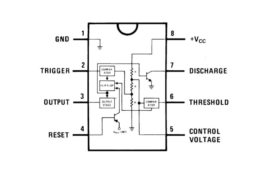 How to Read Schematics - 555 timer Interior Circuit